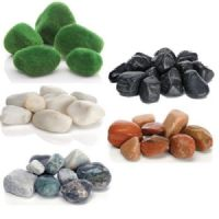 Biorb Reef One Feng Shui Pebble Pack Moss Black White Red Green Aquarium Fish